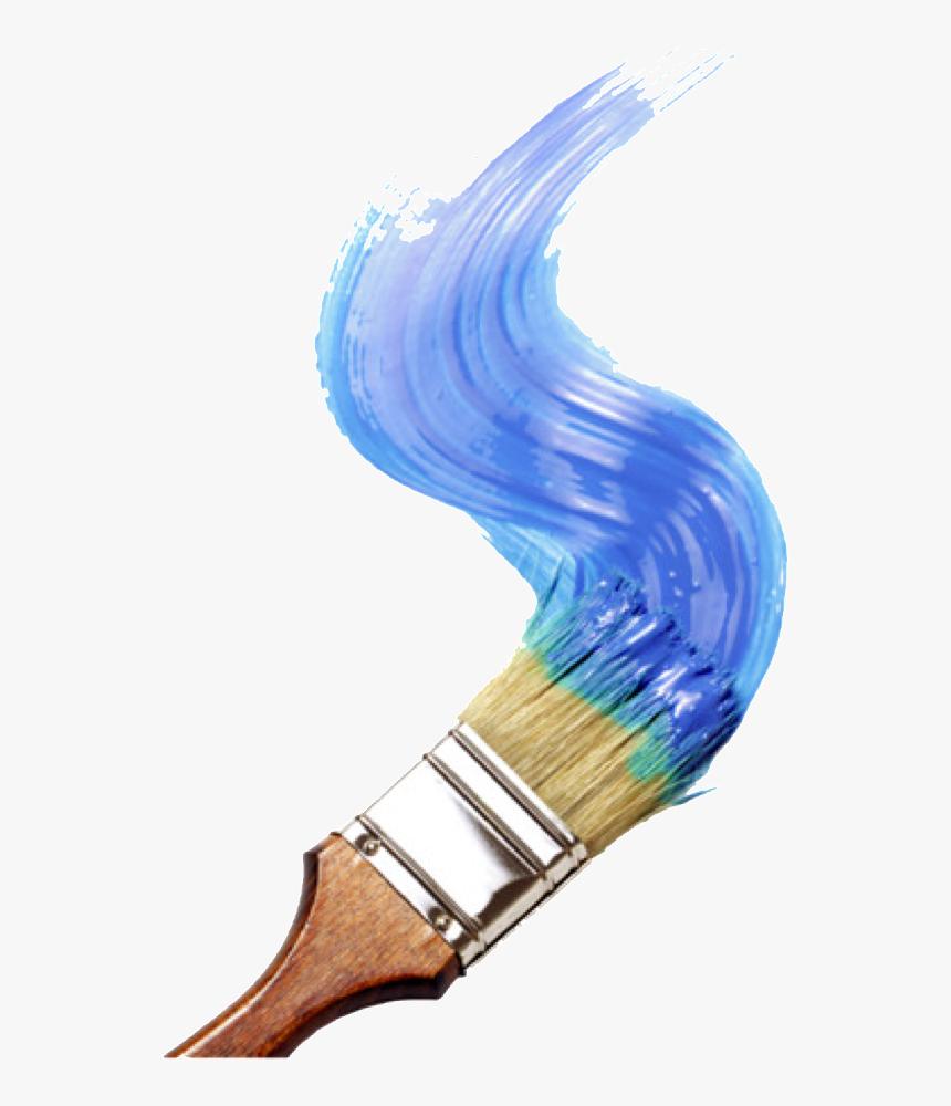 Paint Paintbrush Painting Blue Blueaesthetic Aesthetic Paint Brush Clip Art Transparent Hd Png Download Transparent Png Image Pngitem