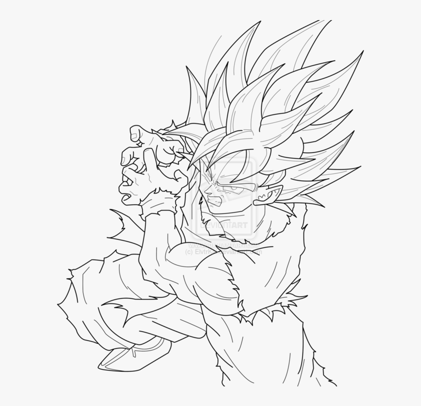 28 Collection Of Super Saiyan Blue Goku Coloring Pages ...