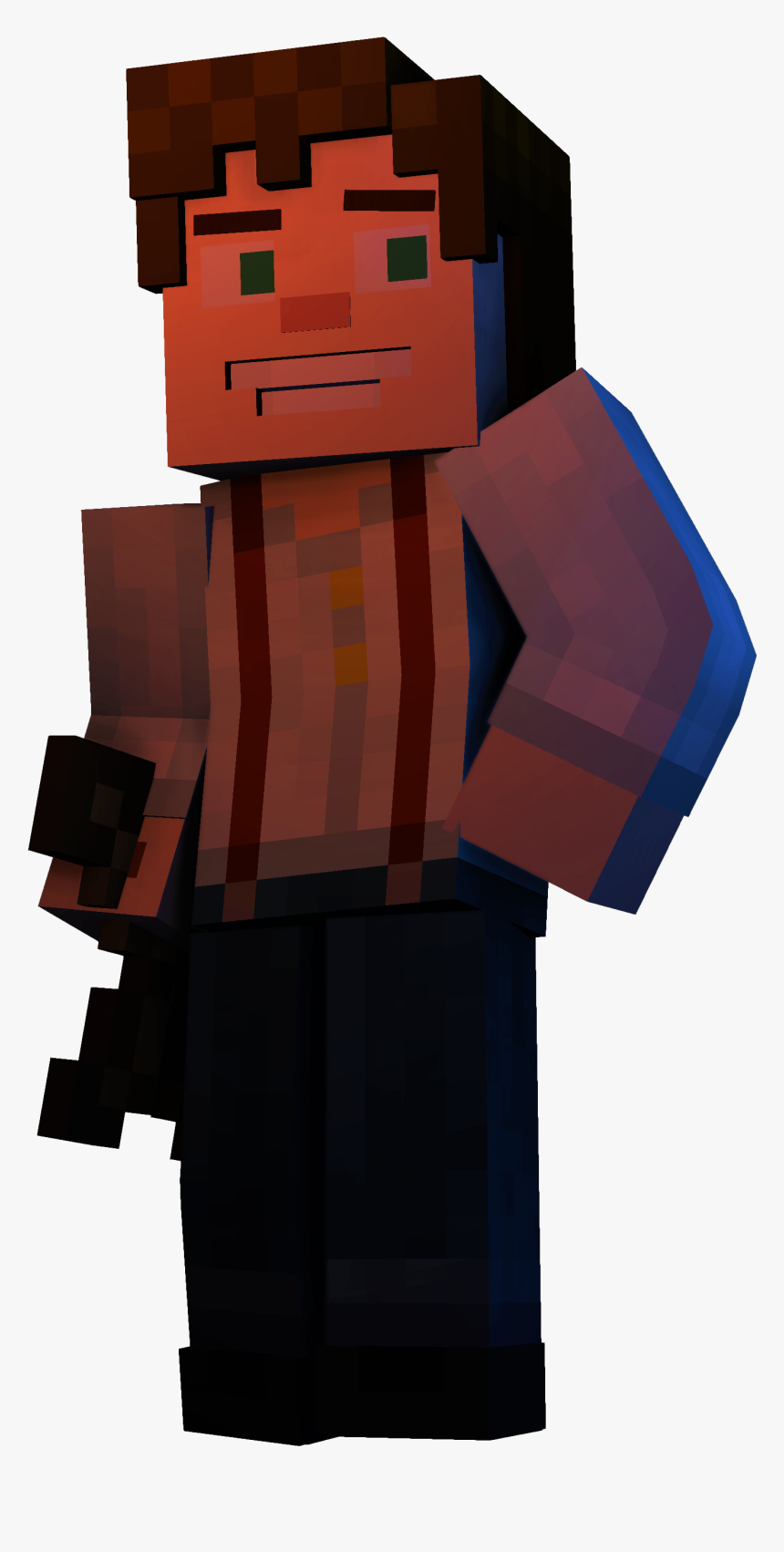 1lfmiox Male Jesse Minecraft Story Mode Hd Png Download