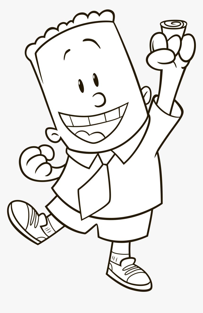 Coloring Professor Poopypants Captain Underpants Hd Png Download Transparent Png Image Pngitem