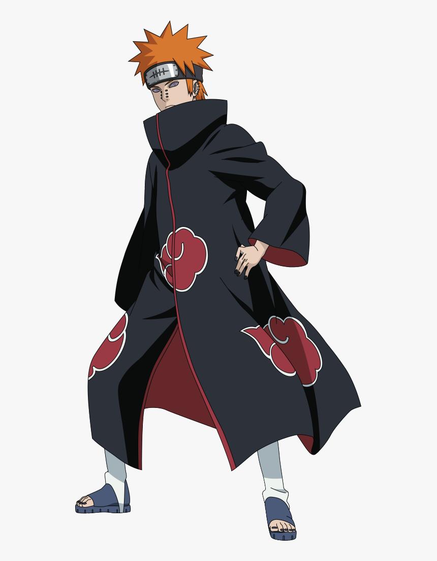 Nagato Akatsuki Png Pain Naruto Full Body Transparent Png Transparent Png Image Pngitem
