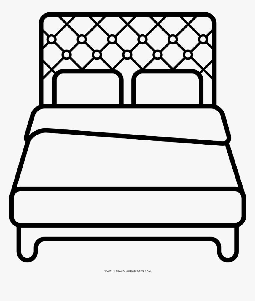 Bed Coloring Page Hd Png Download Transparent Png Image Pngitem