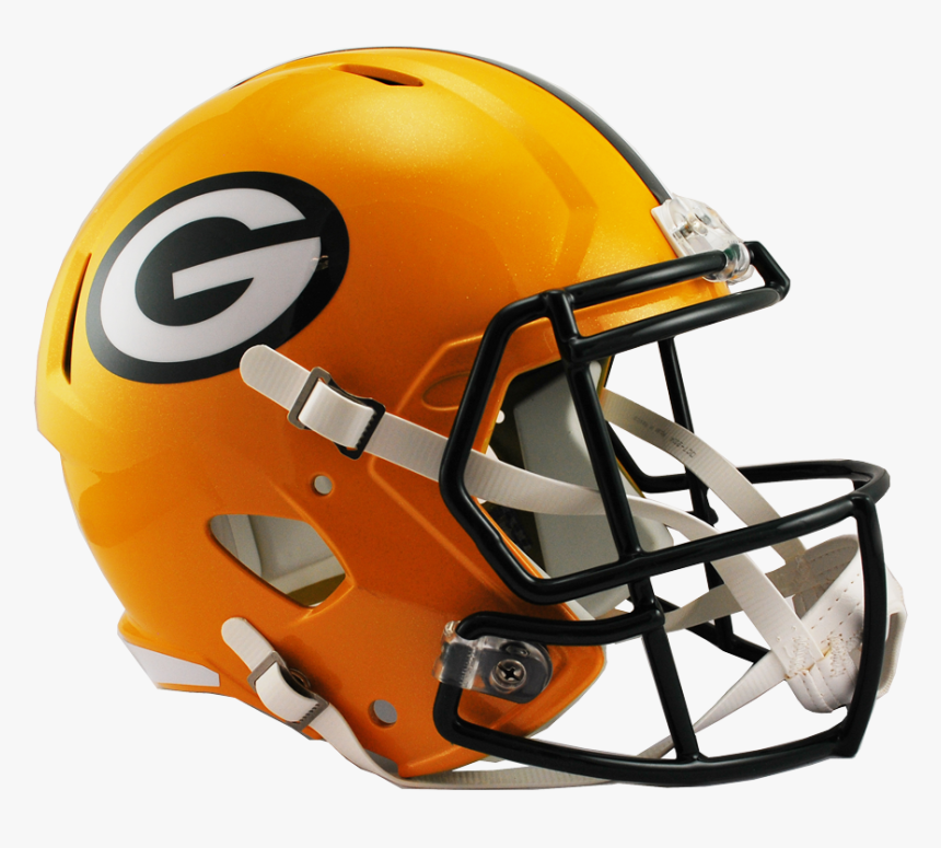 Green Bay Packers Speed Replica Helmet Hd Png Download Transparent Png Image Pngitem