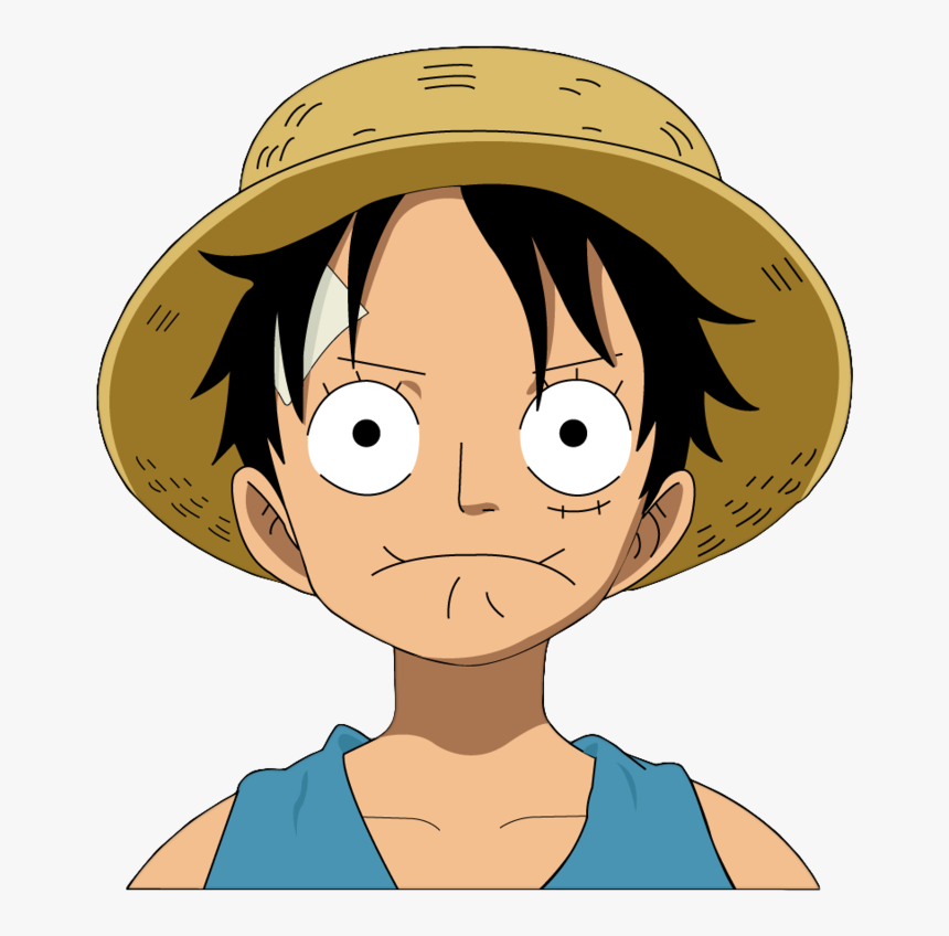 luffy face roblox Cartoon Fashion Character Anime Art One Piece Luffy Face Hd Png Download Transparent Png Image Pngitem