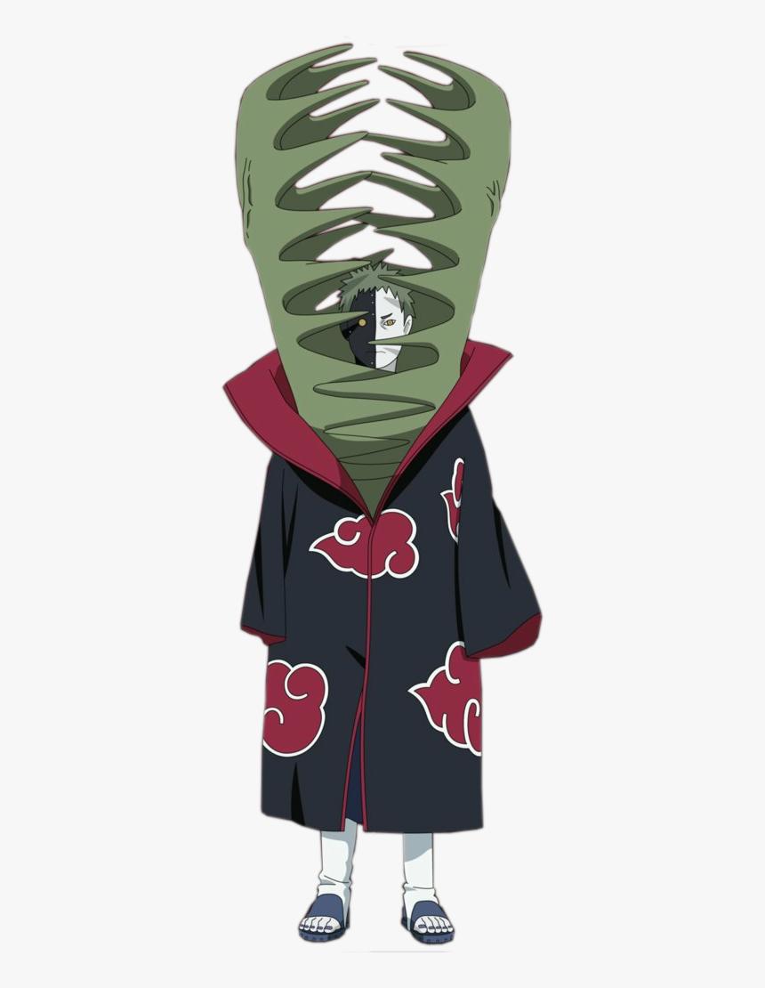 Zetsu [Akatsuki]  Naruto Shippuden Minecraft Skin