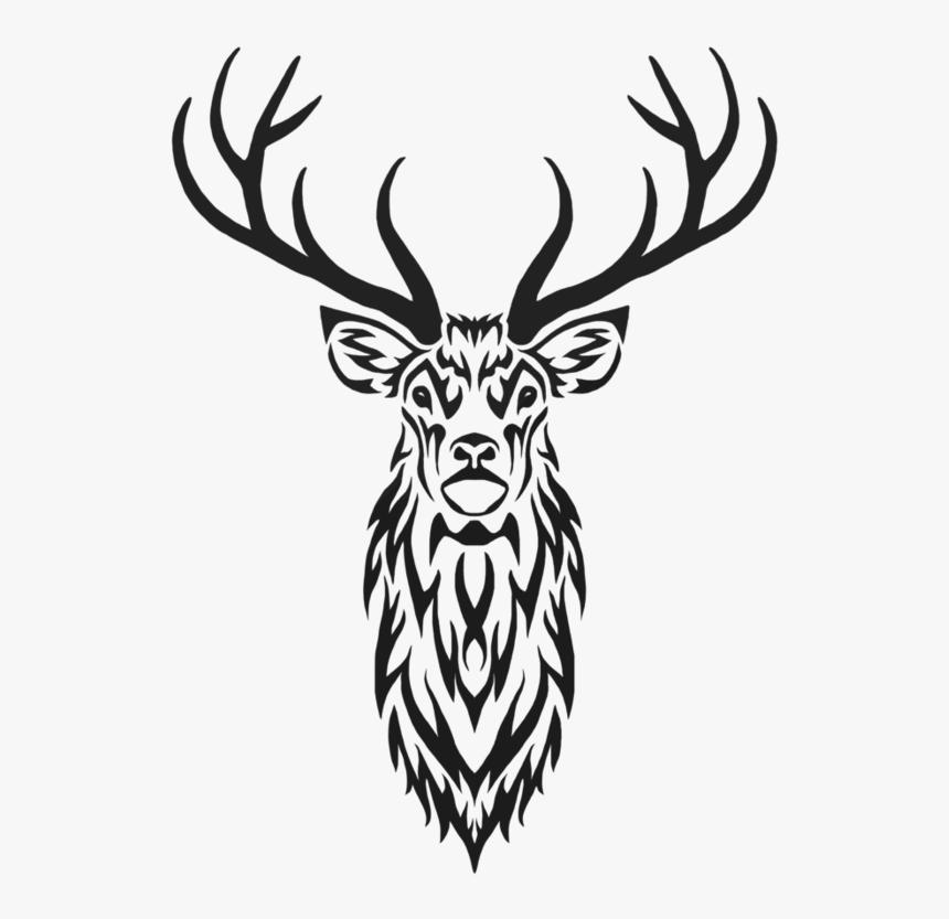 Deer Monogram Clipart, Deer Head Bundle (Graphic) by RedCreations ·  Creative Fabrica