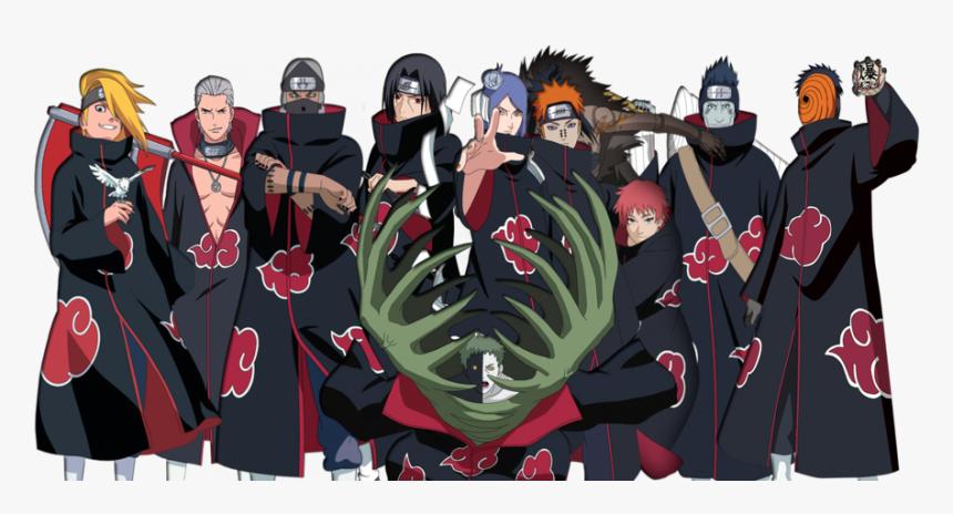 Naruto Shippuden Akatsuki Hd Png Download Transparent Png Image Pngitem