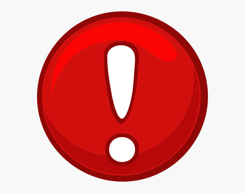 Alert Icon Png Red Alert Round Icon Clip Art - Red Alert Clipart, Transparent Png