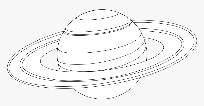 Line Art Plant Angle Coloring Pages Of Saturn Hd Png Download Transparent Png Image Pngitem