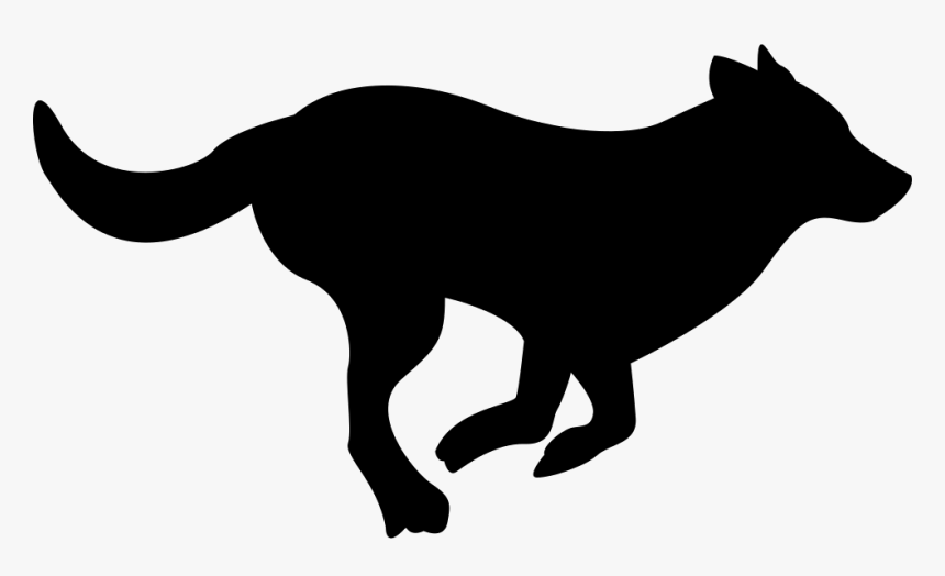 Running Dog Silhouette Black Running Dog Clipart Hd Png Download Transparent Png Image Pngitem