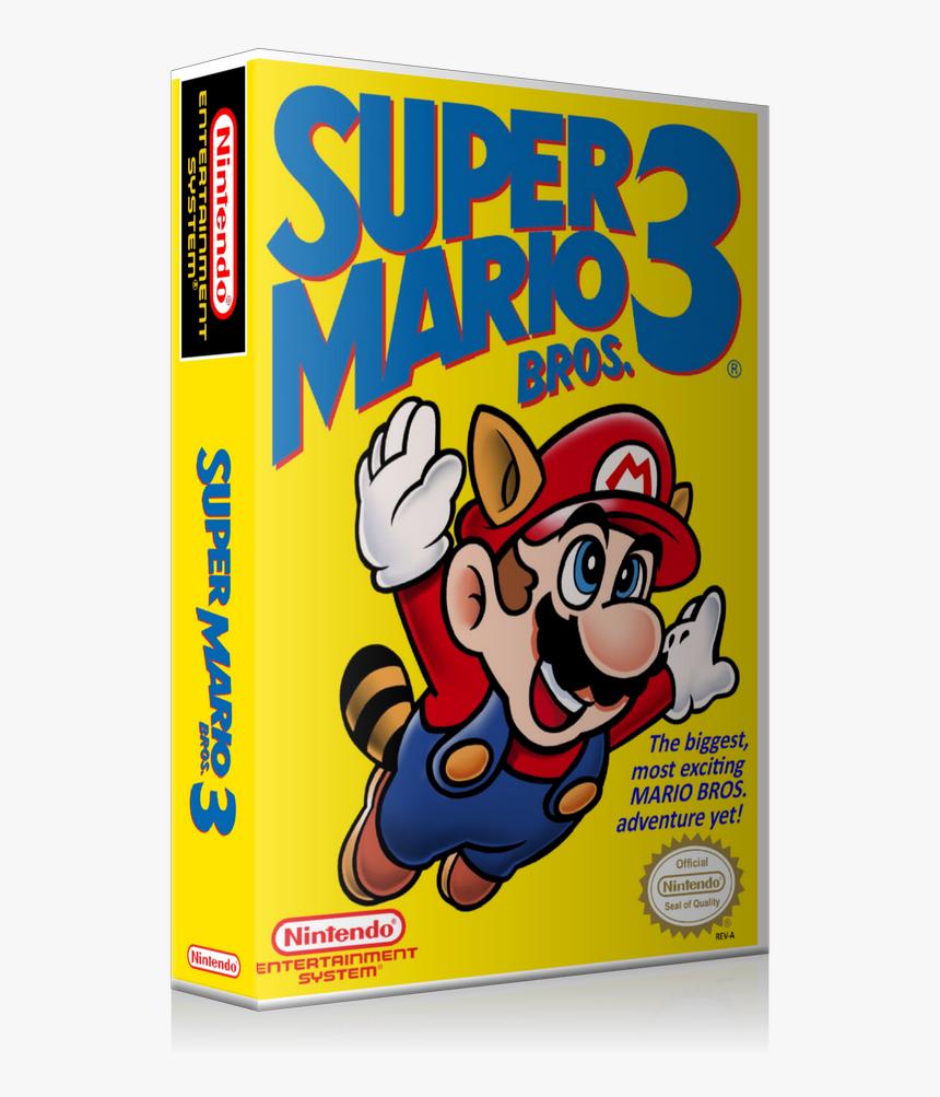 Nes Super Mario Bros 3 Retail Game Cover To Fit A Ugc Super