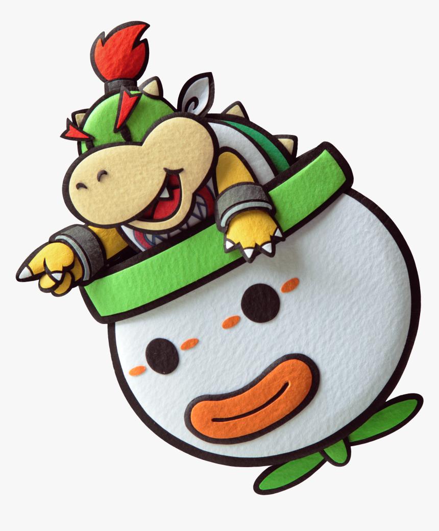 Mario And Luigi Paper Jam Paper Bowser Jr Paper Bowser Jr