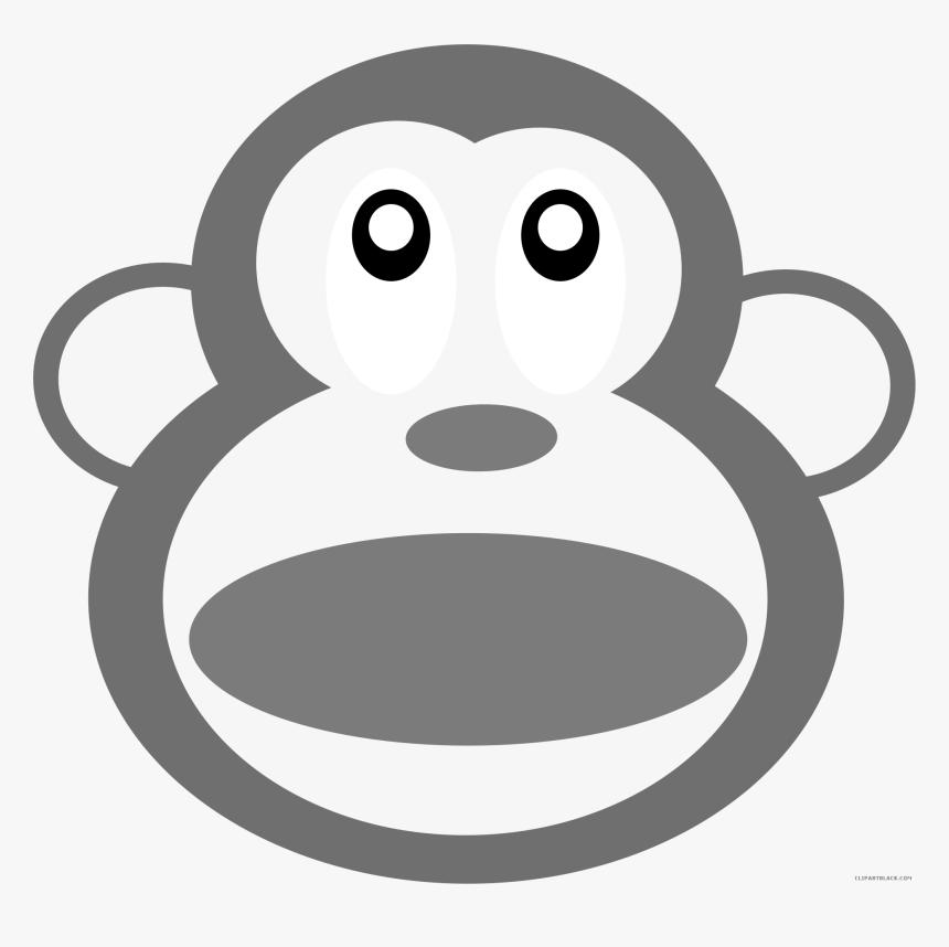Monkey Head Animal Free Black White Clipart Images Pile Of Poo Emoji Hd Png Download Transparent Png Image Pngitem