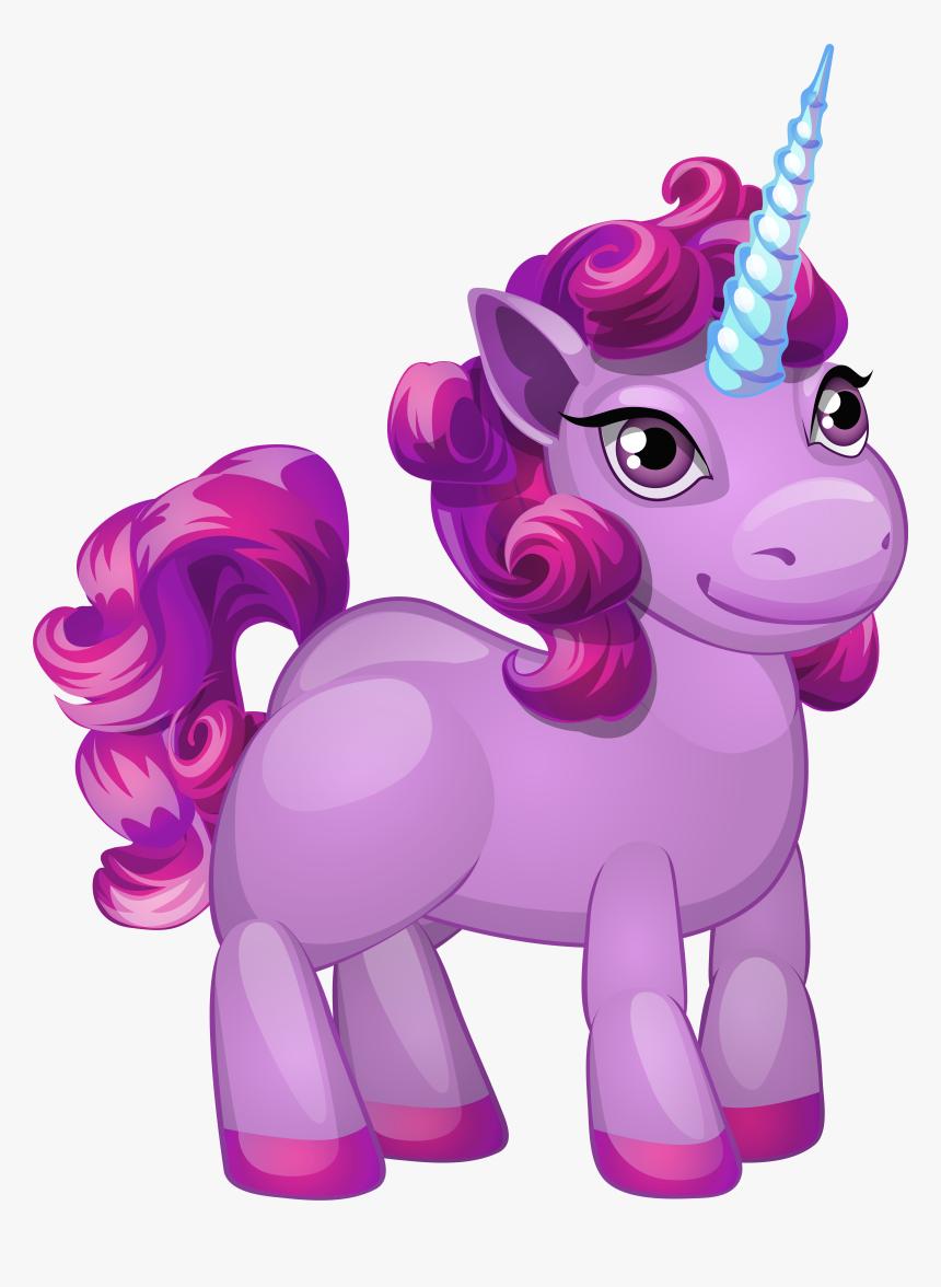 Cute Unicorn Clip Art Pony Clipart Pony Clip Art Unicorn | Etsy