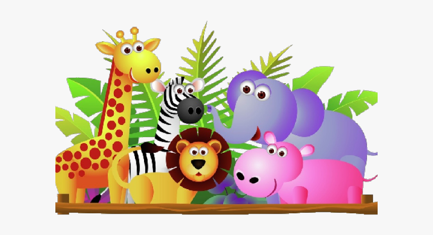 Baby Animal Cartoon Cute Zoo Animals Clipart Hd Png Download Transparent Png Image Pngitem