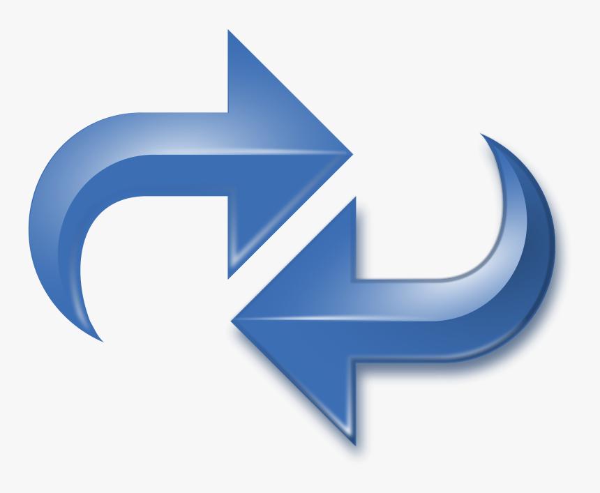 Two Way Arrow Cliparts Reverse Arrows Hd Png Download Transparent Png Image Pngitem