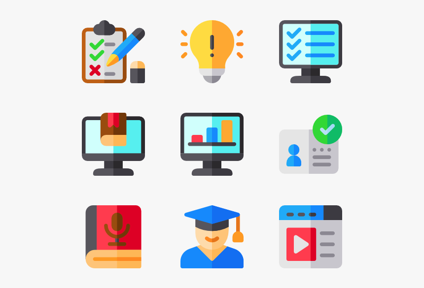 Online Learning E Learning Icon Png Transparent Png Transparent Png Image Pngitem