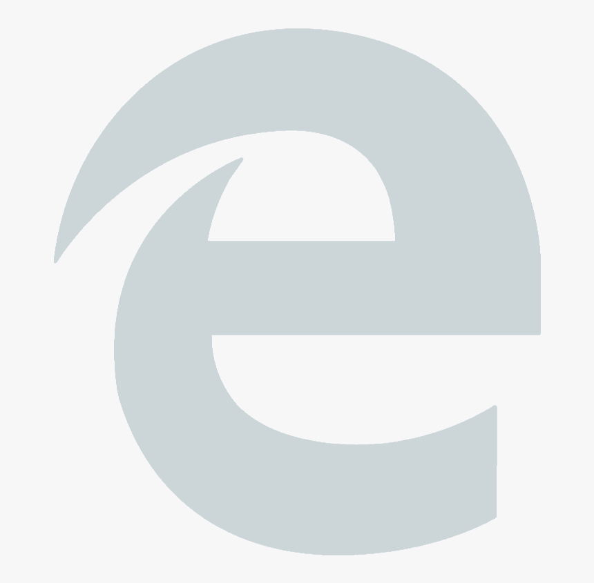 Logo Internet Png Blanc Microsoft Edge White Icon Transparent Png Transparent Png Image Pngitem