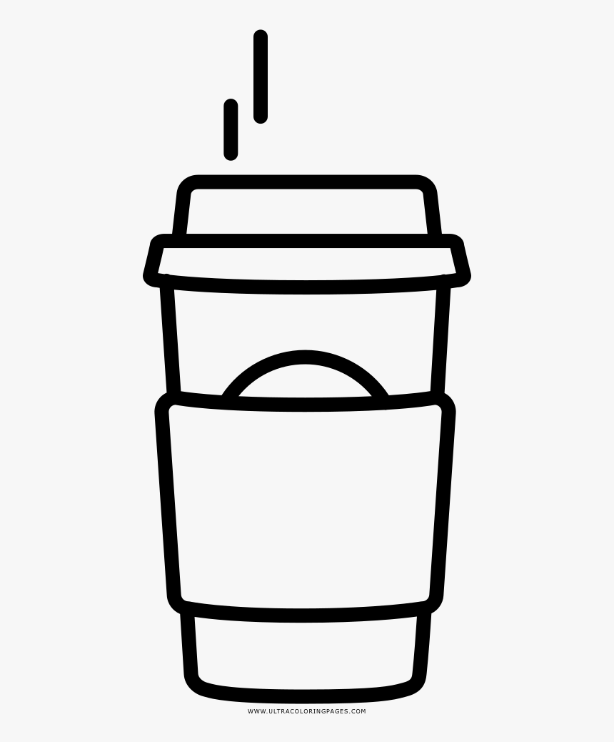 Coffee Starbucks Coloring Page Printable Coffee Starbucks Latte Clipart Black And White Hd Png Download Transparent Png Image Pngitem