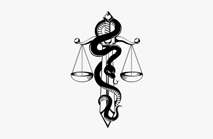 Snake Tattoo Png Image Transparent Background - Scales Of Justice ...