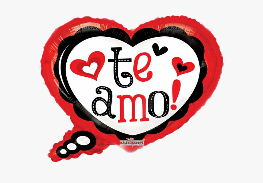 Transparent Te Amo Clipart Globo Te Amo Corazon Con Mono Hd Png