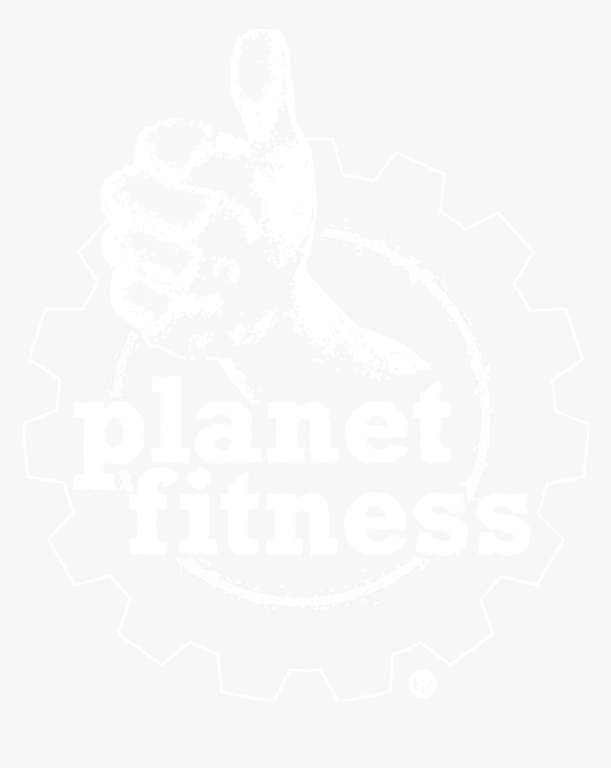 Planet Fitness White Png Planet Fitness Logo White Transparent