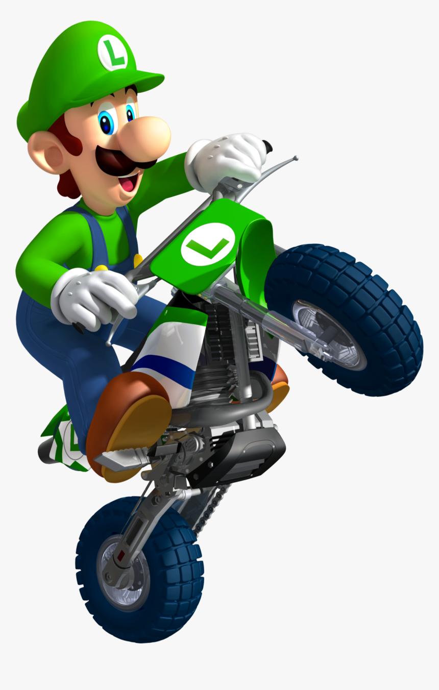 Luigi Mario Kart Characters Hd Png Download Transparent