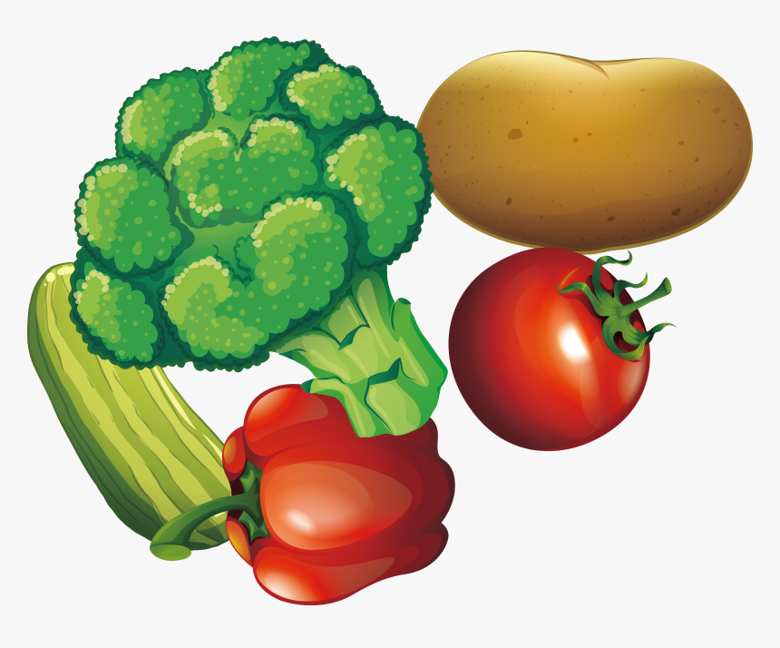 Clip Art Cartoon Vegetables Images Fresh Vegetables Banner Hd Png Download Transparent Png Image Pngitem