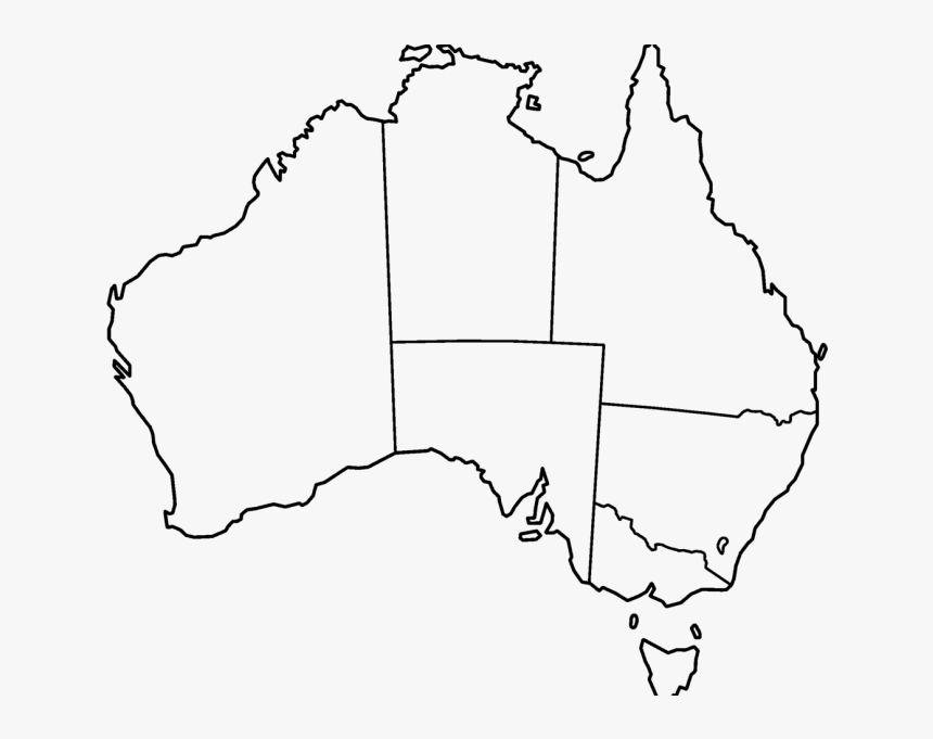 Blank Map Of Australia Printable Printable Blank Map - Empty ...