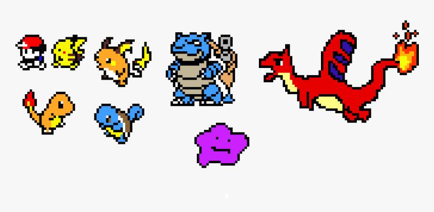Sprite Pixel Art Maker Pokemon Hd Png Download