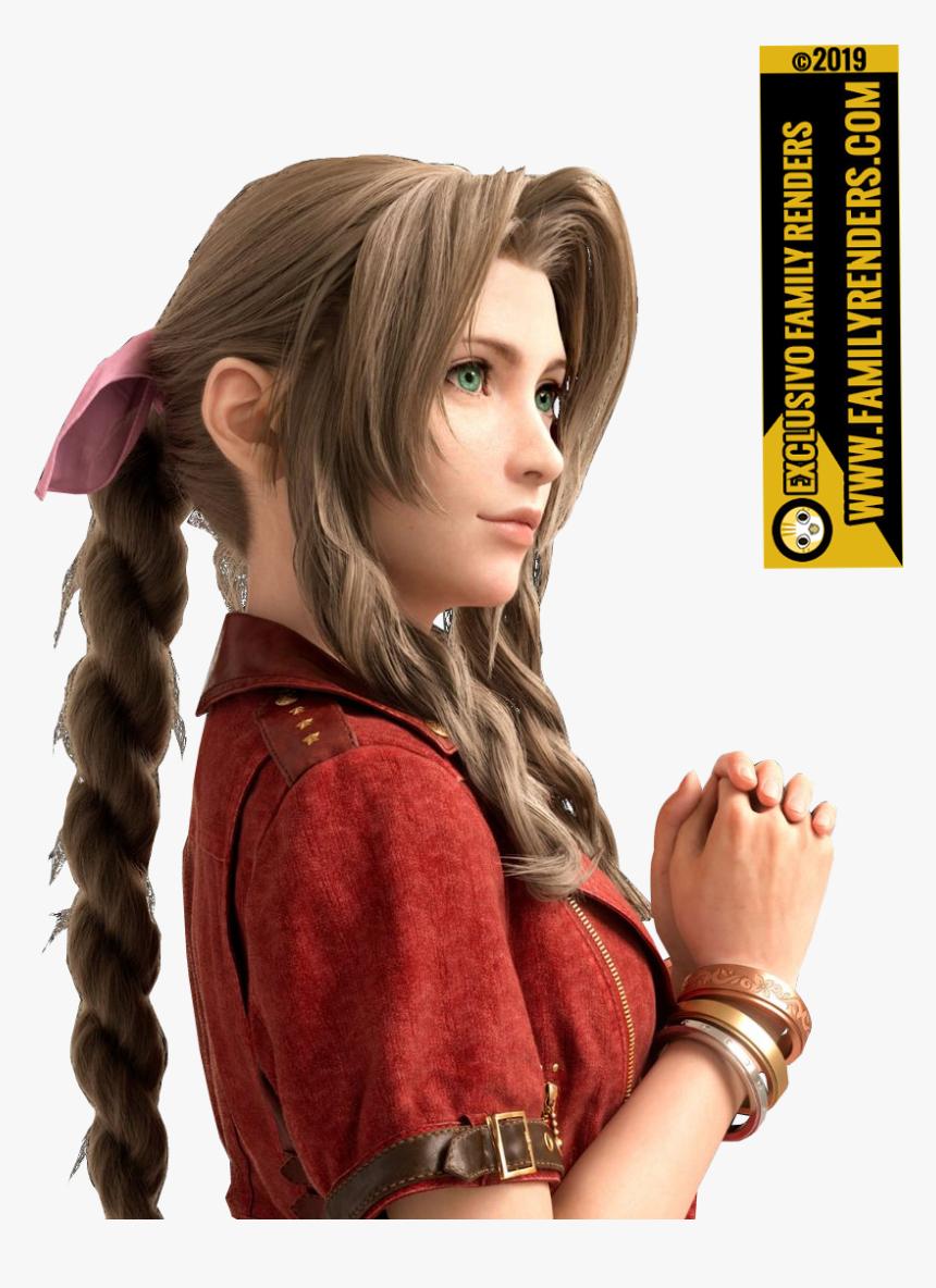 Final Fantasy 7 Aerith Hd Png Download Transparent Png