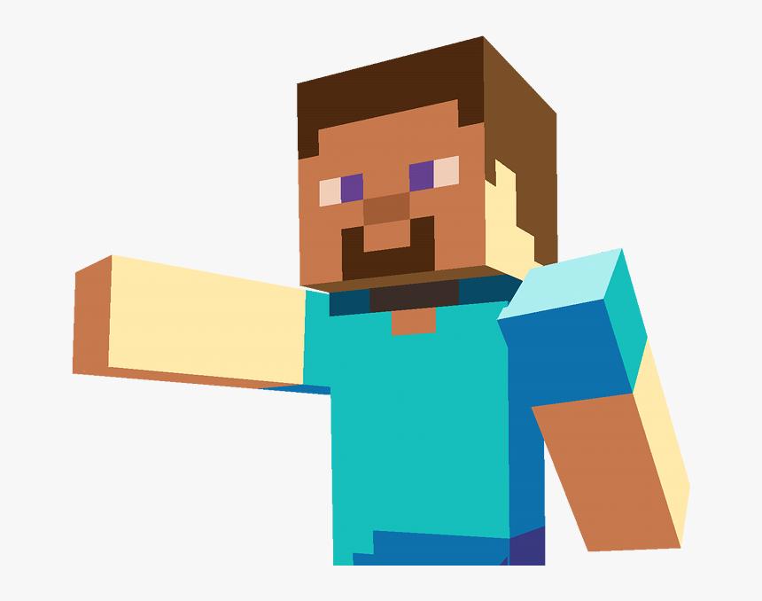 Transparent Minecraft Steve Running Png Minecraft Steve Transparent Background Png Download Transparent Png Image Pngitem