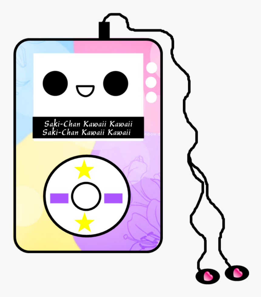 Kawaii Cute Music Mp3 Mp3player Pink Pastel Earphones Kawaii Music Hd Png Download Transparent Png Image Pngitem