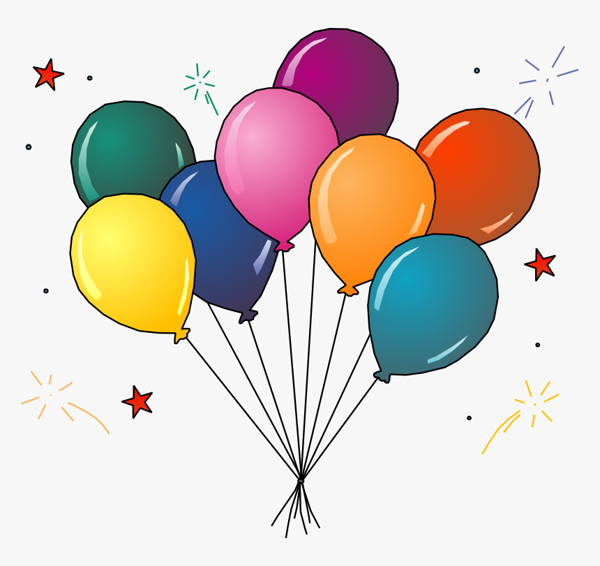 Clip Art Party Balloons