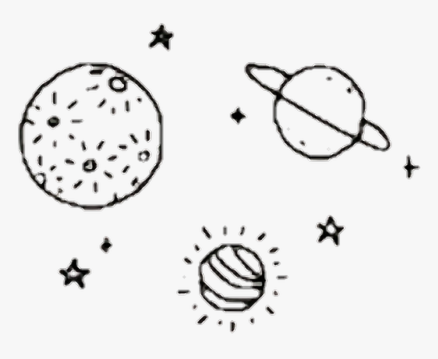 Transparent Stars Png Tumblr Aesthetic Black And White Png Png