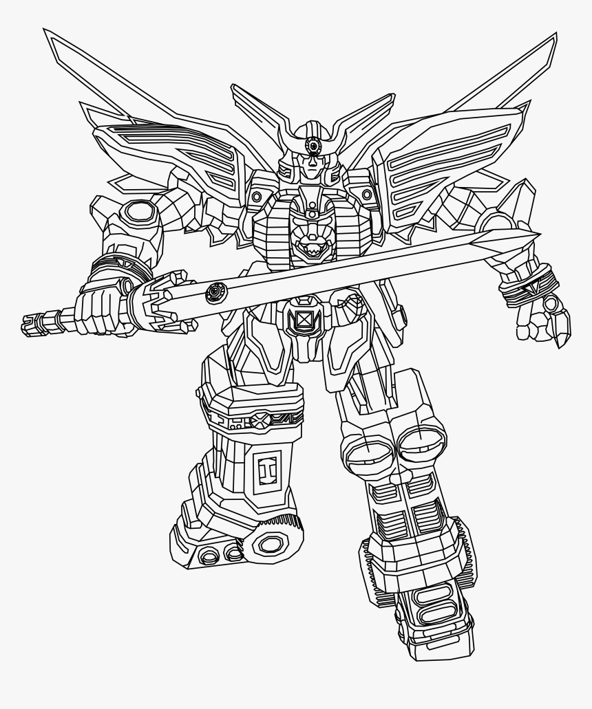 - Power Rangers Dino Charge Ptera Zord Coloring Pages - Power