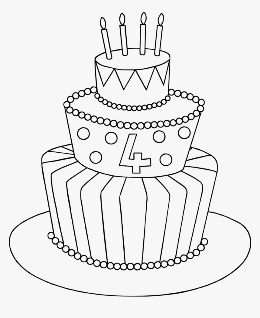 Enjoyable Cake Drawing Birthday Cake Drawing Hd Png Download Funny Birthday Cards Online Alyptdamsfinfo