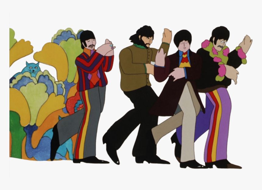 Beatles Yellow Submarine Gif Clipart The Beatles Yellow Beatles Yellow Submarine Nowhere Man Hd Png Download Transparent Png Image Pngitem