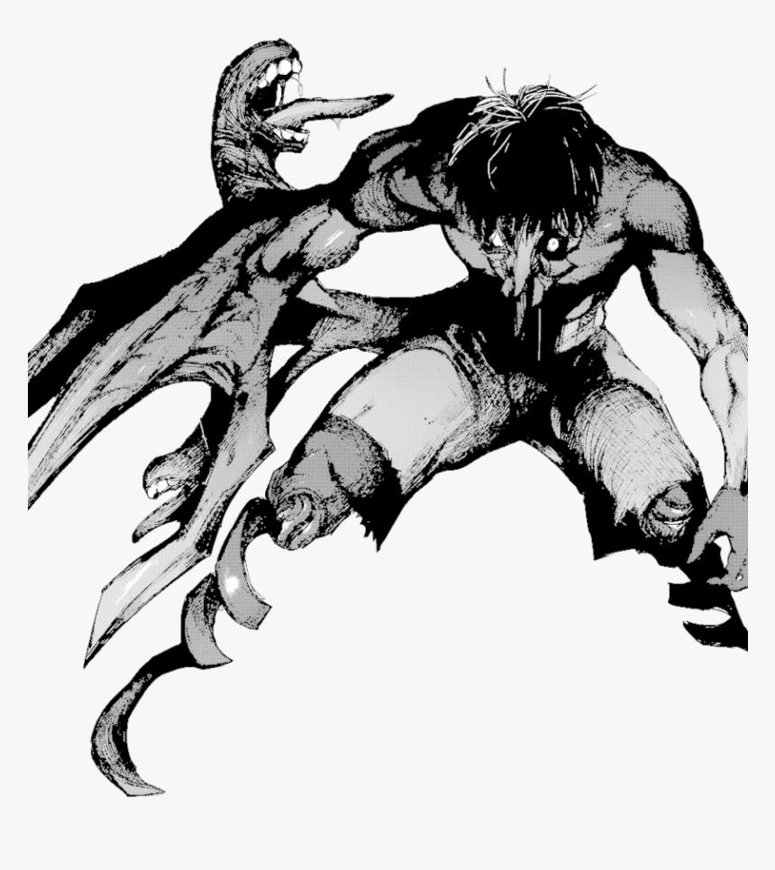 Ken Kaneki Kakuja Drawing