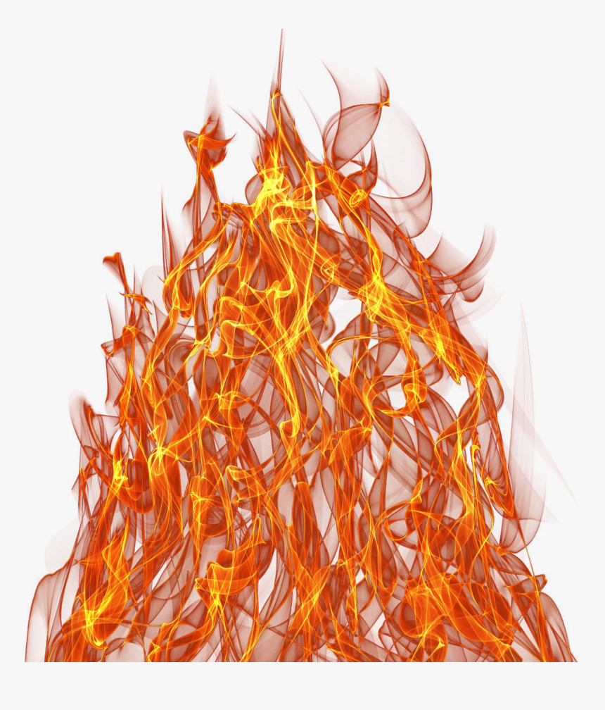 Animated Realistic Fire With Smoke On Transparent Background Flame Png Png Download Transparent Png Image Pngitem