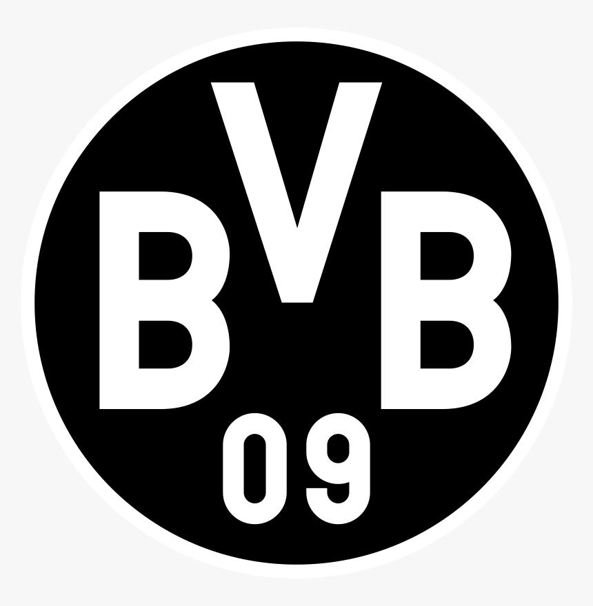 Transparent Borussia Dortmund Logo Png Borussia Dortmund Logo Black Png Download Transparent Png Image Pngitem