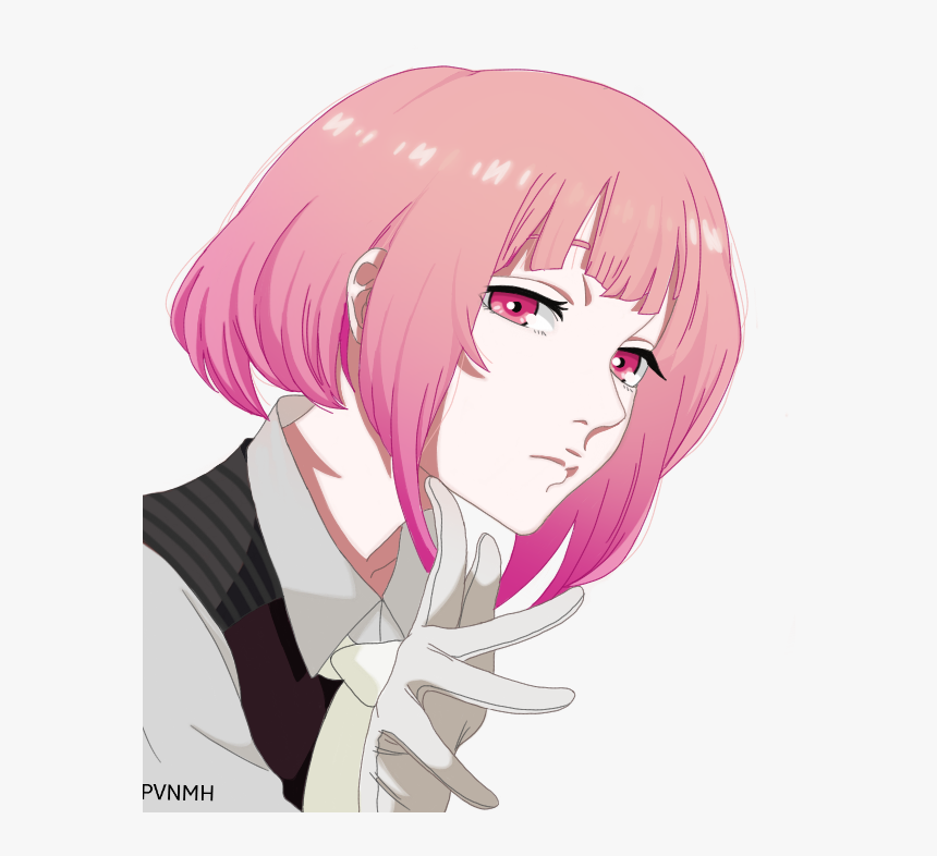 tokyo ghoul re pink hair hd png download transparent png image pngitem tokyo ghoul re pink hair hd png