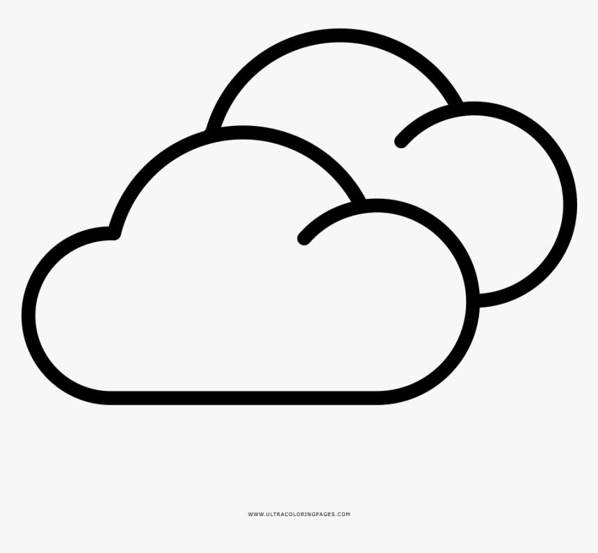 Dibujo De Nubes Para Colorear - Imagenes De Nubes Nubladas Para ...