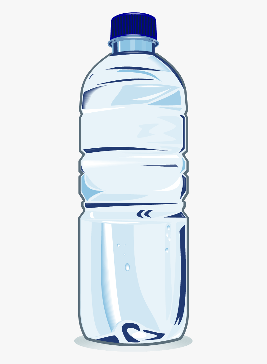 Water Bottle Clip Art Plastic Bottle Clipart Transparent Background Hd Png Download Transparent Png Image Pngitem