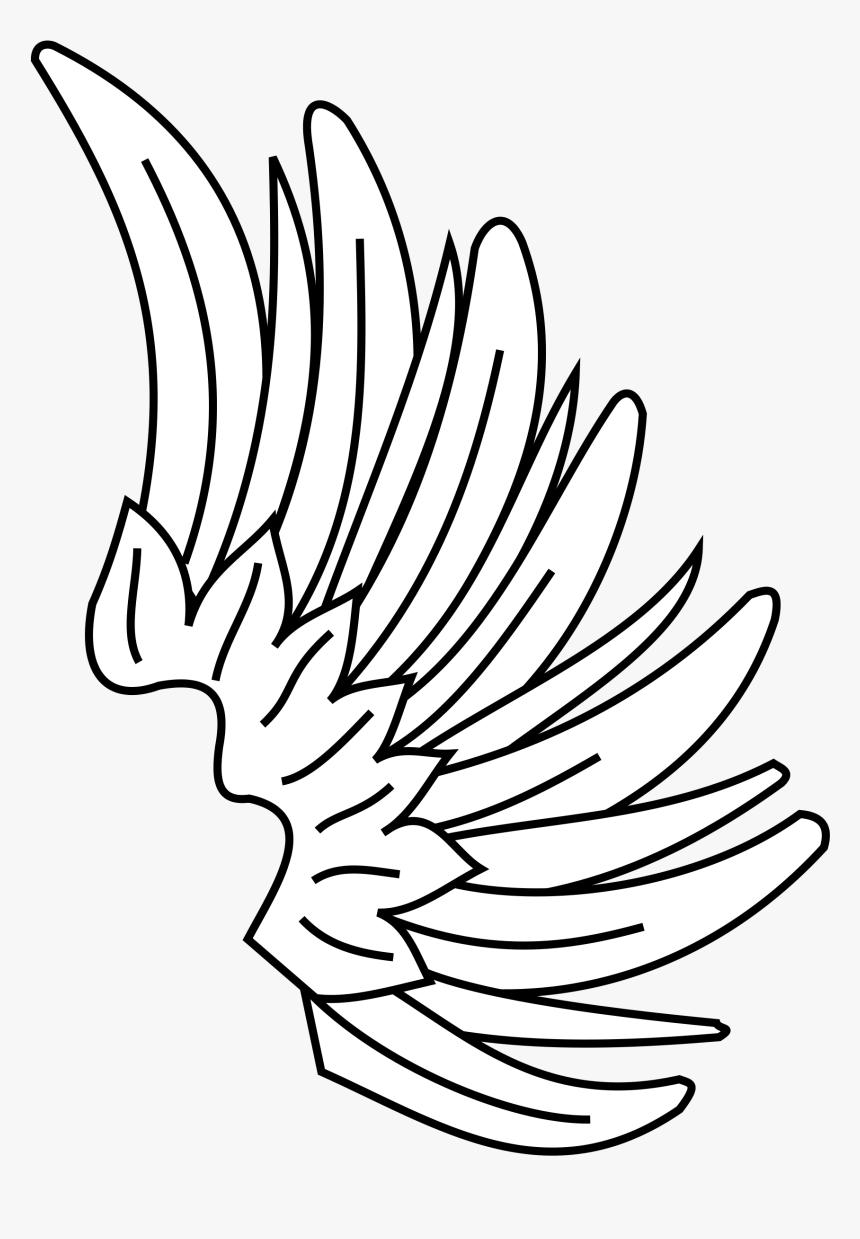 Transparent Asas Png Wing Heraldry Symbol Png Download