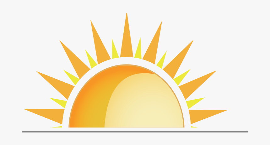 Banner Black And White Half Sun Images Png Transparent Png
