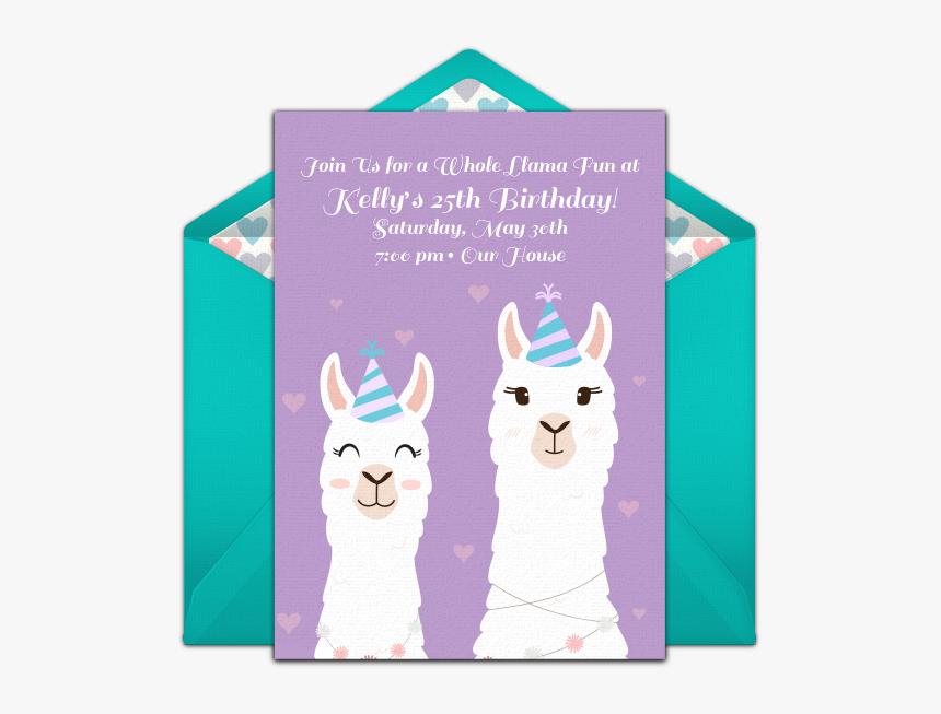 Little Pony Invitation Card Hd Png Download Transparent