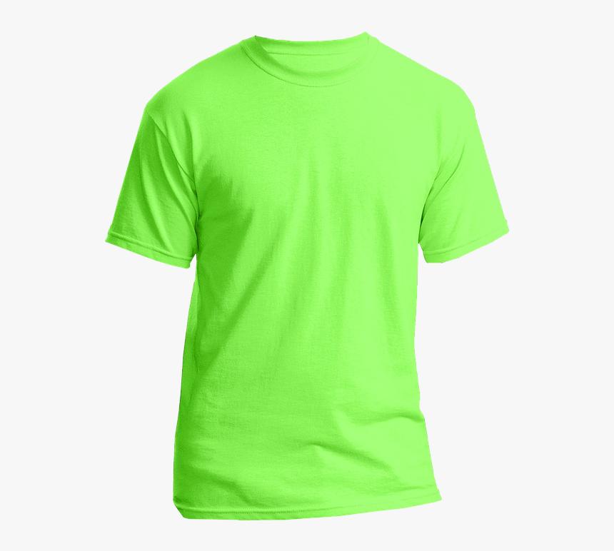 Transparent T Shirt Clipart Png Yellow Green Plain T Shirt Png Download Transparent Png Image Pngitem