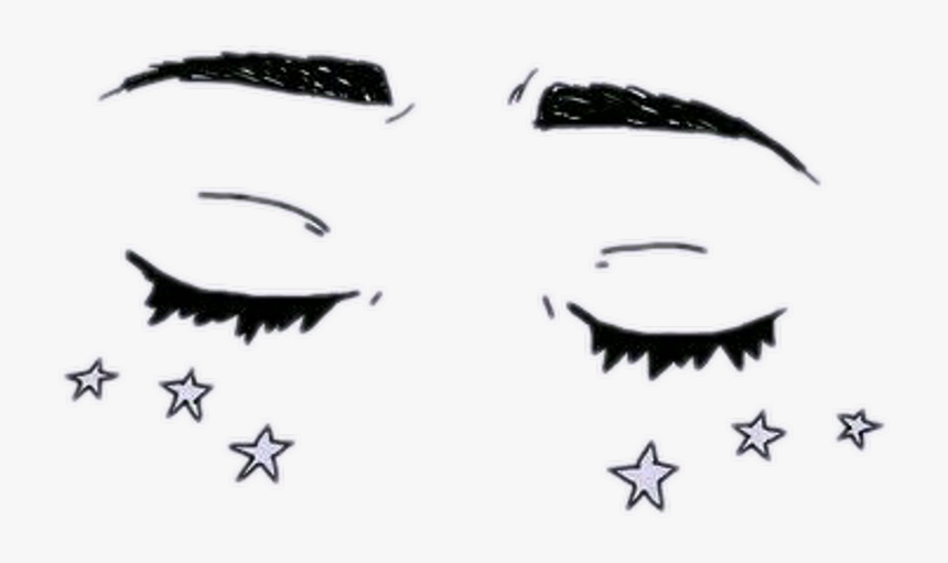 Aesthetic Tumblr Drawings Eyes Hd Png Download Transparent Png