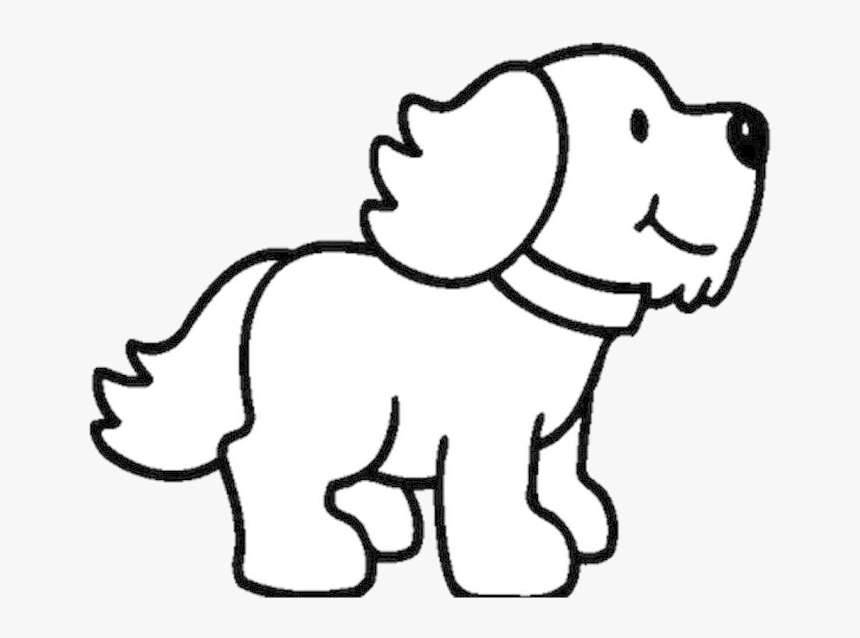 Puppy Dog Black And White Clipart Transparent Png Pup Clipart